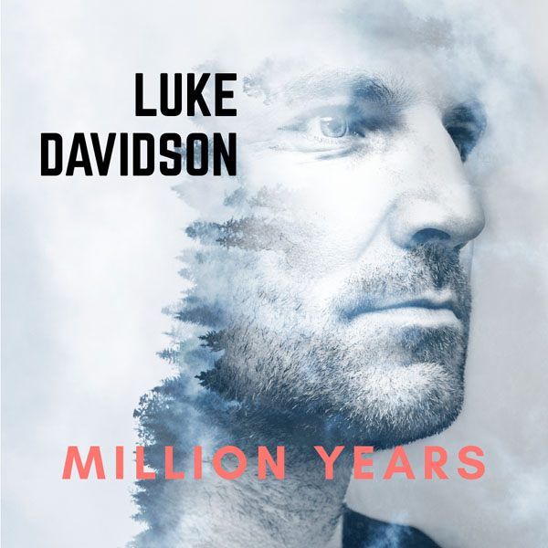 Luke Davidson Million Years SINGLE COVER