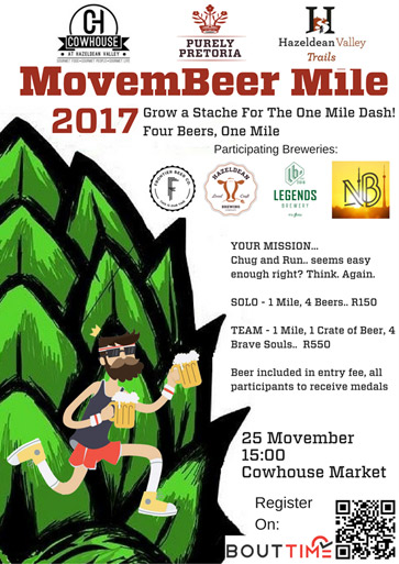 Movember Beer Mile