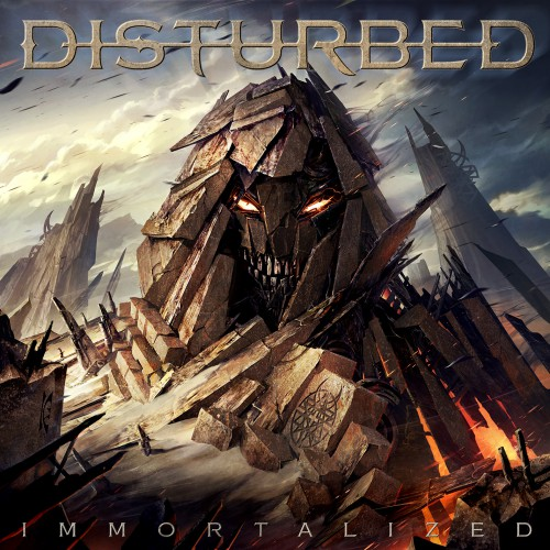 disturbed immortalized album cover 2