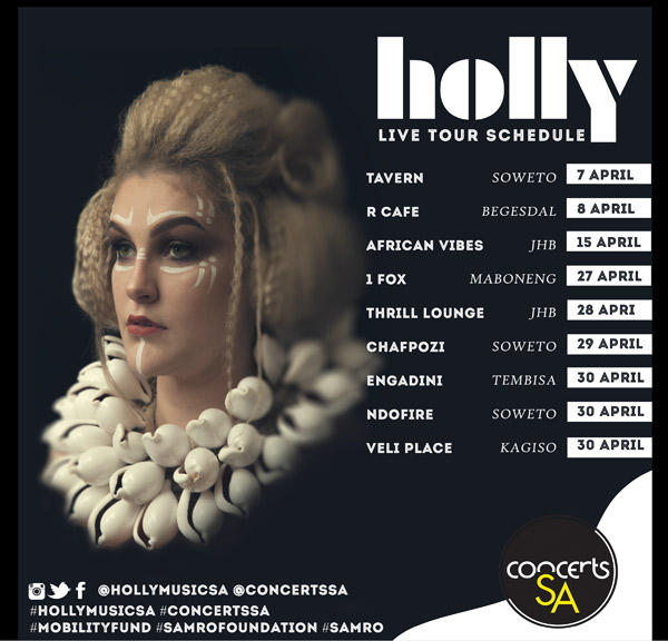 Holly Gig Guide