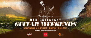 DAN PATLANSKY Guitar Weekends | December 2017