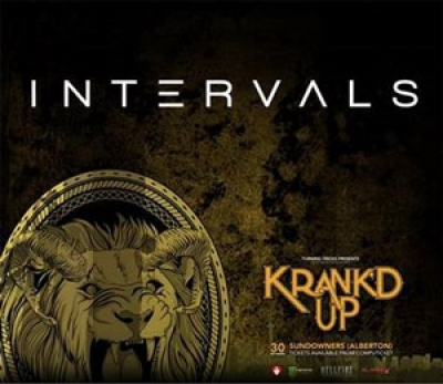 Krank'd Up 2017 - Instrumental Prog Virtuosos INTERVALS Heading For South Africa