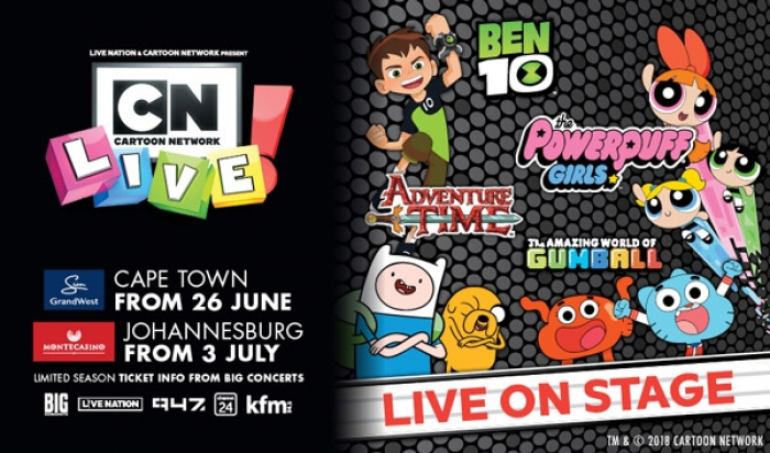 South Africa to Host World Premiere of Cartoon Network Live!
