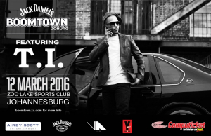 Jack Daniels Boomtown FEAT. T.I. - A Unique JOBURG Event