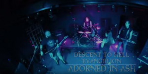 Watch! Adorned in Ash Live At Sundowners