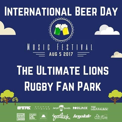 Cheer The Lions on at The First Ever International Beer Festival