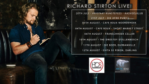 Richard Stirton Returns To Cape Town