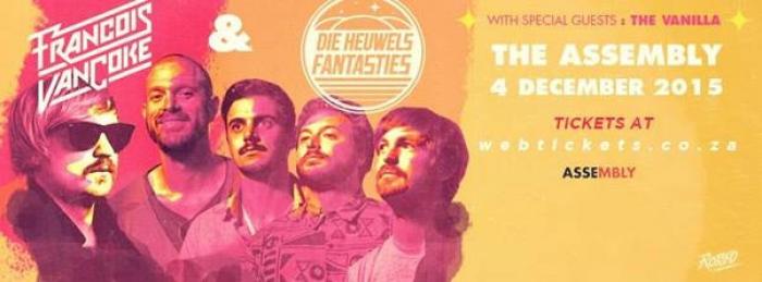 Francois van Coke + Die Heuwels Fantasties at The Assembly
