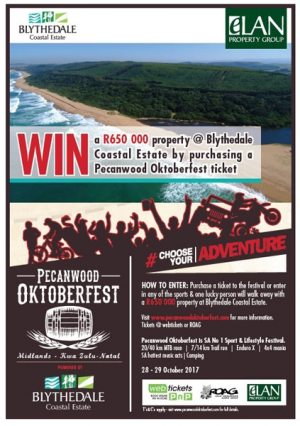 Win With Pecanwood: Oktoberfest - 28 - 29 October 2017