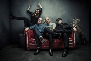 PIXIES TO TOUR SOUTH AFRICA - MARCH 2017