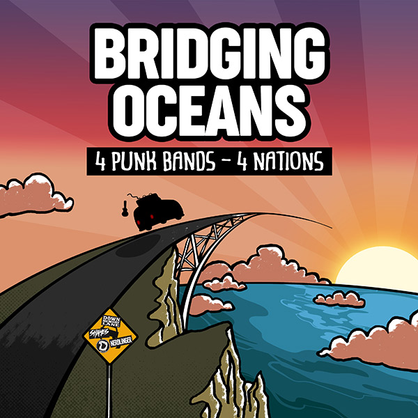 Bridging Oceans Split Artwork