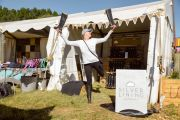 First_time_traders_Silver_Lining_Gumboots_are_ready_for_business_at_Splashy_Fen_this_easter_weekend