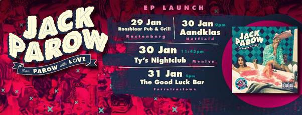 parow with love ep launch banner