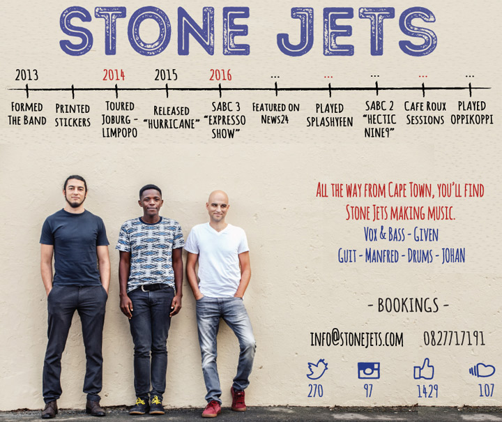 Stone Jets One Sheet