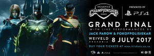 Fokofpolisiekar & Jack Parow at Injustice™ 2 Championship Series Grand Final