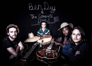 Ben Dey and the Concrete Lions launch debut EP 'Rise'
