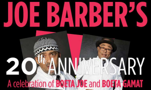 Two Extra Dates Added to Joe Barber's Sell-out 20th Anniversary Show
