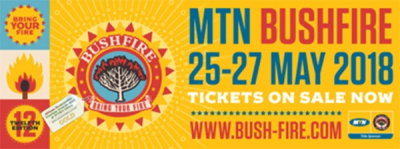 MTN BUSHFIRE 2018 First Artists Announced