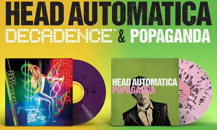Two Head Automatica Titles To Be Released on Vinyl