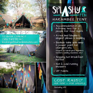 #Splashy2016 Jazzes Things up with Cool Camping Options