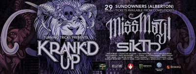 Krank'd Up 2018: Final Line-up Announced!