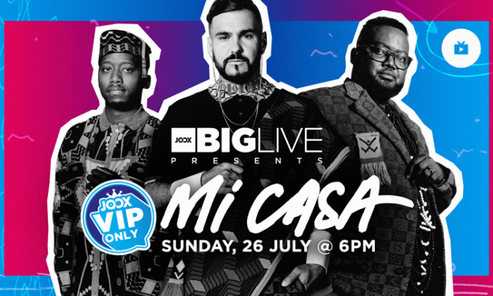Joox Announces 'The Big Live Concert' Featuring Mi Casa