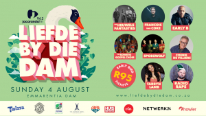 Liefde By Die Dam: Line-up & Early Bird Tickets Available Now