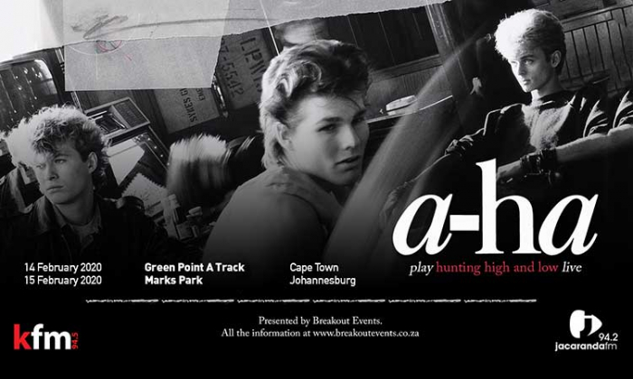 a-ha To Return to South Africa: Tour Dates Announced