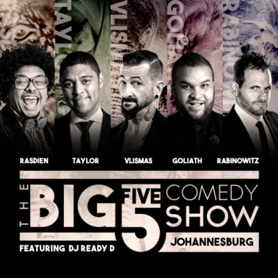 NIC RABINOWITZ JOINS THE BIG 5 COMEDY LINE UP
