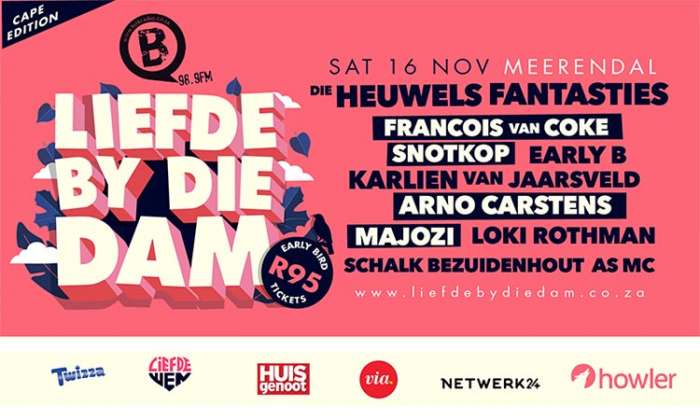 Liefde by die Dam: Meerendal Cape Town EARLY BIRD TICKETS NOW LIVE