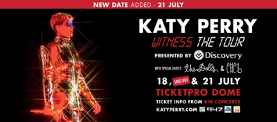 Katy Perry: The Dolls & Elle B Added As Support