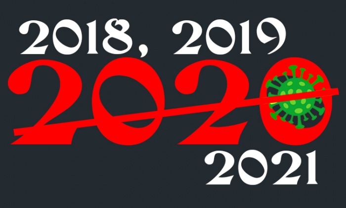 When 2020 Disappeared: 2018, 2019 … 2021!