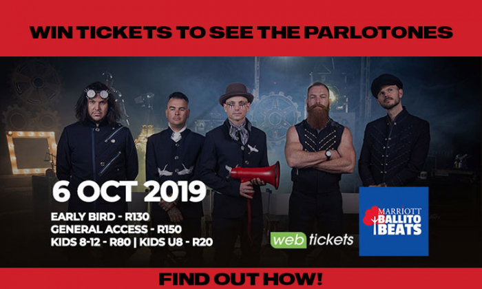 Win Tickets To See The Parlotones in Ballito