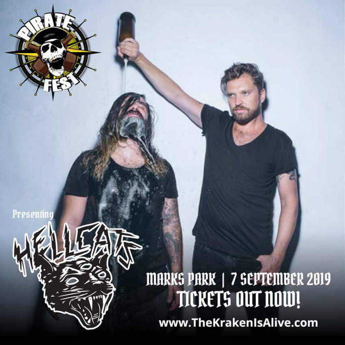 HELLCATS Added To The Pirate Fest 2019 Lineup