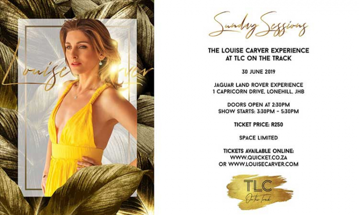 Experience Louise Carver At TLC on the Track